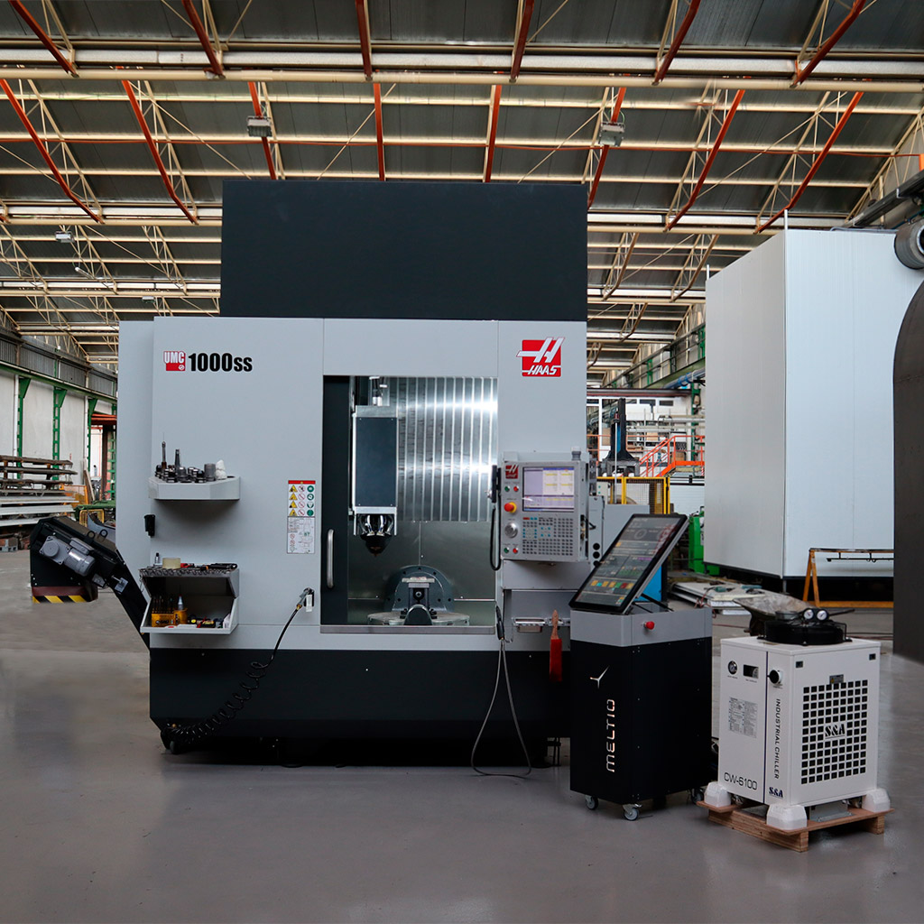 Sivo – Meltio Engine CNC Installation_1